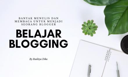 Tiga Hal Yang Penting Dalam Penulisan Di Blog