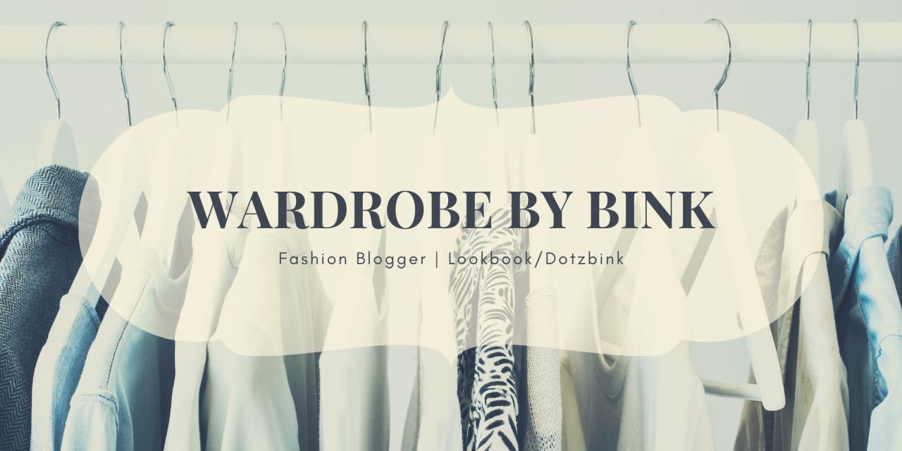 Wardrobe By Bink