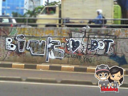 Graffiti-Binkdotz