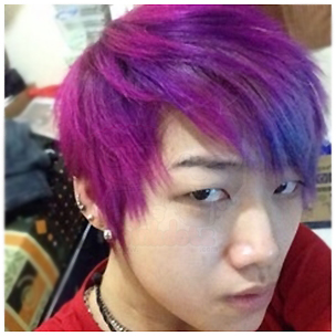 Yan-With-Fuschia-Shock-Manic-Panic