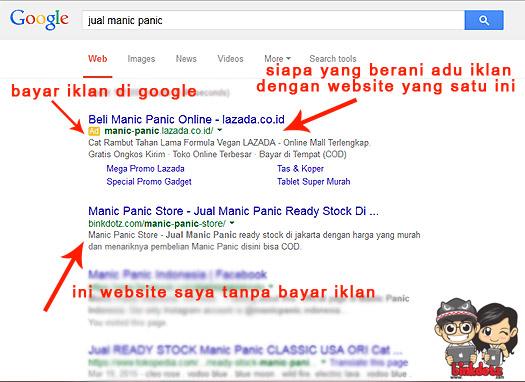 Iklan-Manic-Panic-Di-Google