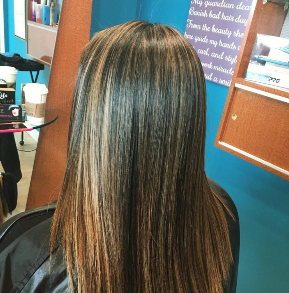 cara-highlight-rambut-tanpa-bleaching