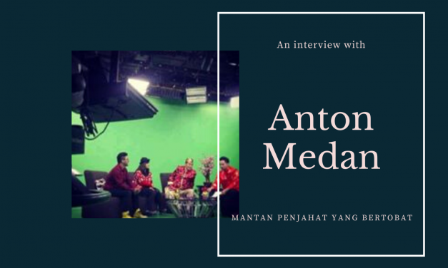 Talkshow Bersama Anton Medan Di JAK-TV